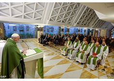 #Homily #PopeFrancis: The greatest glory is God, everything else fades away (November 13, 2015)
