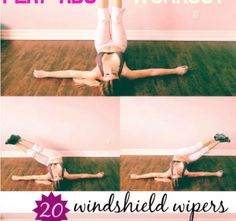 Flat ab workout