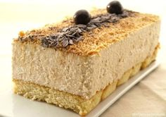 Dessert Sans Four, My Dessert, Dessert Recipes, Thermomix Desserts, Gateaux Cake, Pan Dulce, Xmas Food, Cakes And More, No Bake Cake