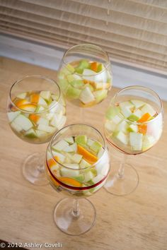 New Year's Eve Tapas Party: White Sangria