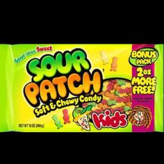Sourpatch kids My obsession(: