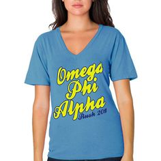 "Sorority and Fraternity Rush Shirts and Ideas ""Scripted Text Rush Shirt"" Design #Greek #Sorority #Clothing #Recruitment #Rush #BidDay"
