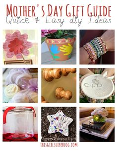 Mother's Day Gift Guide: Quick & Easy DIY Gifts