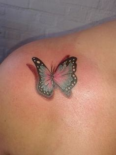 Vlinder Print Tattoos, Piercings, Butterfly, Floral, Tattoo Ideas, Google Search, Jewelry, Peircings, Jewellery Making
