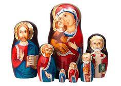 Nativity Russian Matryoshka Dolls