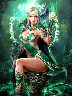Elfa hechicera Chain of souls