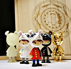 Little Dreamers Collector Set:Limited Edition of 280Hand painted resin3
