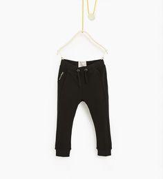 ZARA - ENFANTS - Pantalon en piqué