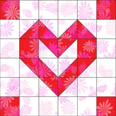 Playful Hearts Block