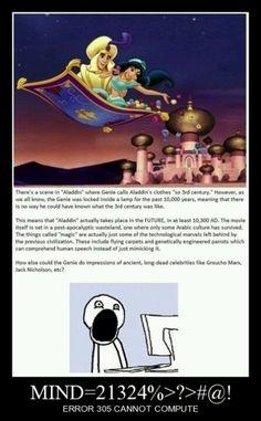 Mind blown! Disney funny!