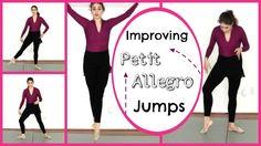 Improving Petit Allegro Jumps - Basics | Kathryn Morgan