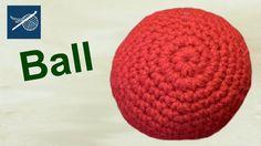 How to Make a Crochet Ball - Amigurumi - Left Hand Version Crochet Geek  http://www.youtube.com/user/tjw1963/search?query=Left+Hand