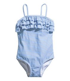 Vintage inspired ruffle swimsuit | Toddler girl | H&M US
