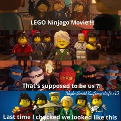 Ya to be honest im not that excited about the ninjago movie. I mean they changed the voices completely and they don't even look like the ninja really...its kinda disappointing honestly....