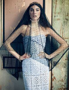 Romantically Eccentric Editorials - Jacquelyn Jablonski is in Harper's Bazaar Korea February 2 (GALLERY)
