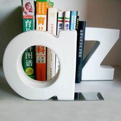 Suportes de Livros Alfabeto A Z em Cerâmica
