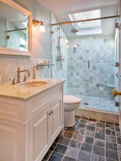 Bathroom Ideas: Modern Bathroom Shower Designs With Beige Shower ...