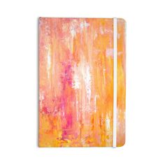 "CarolLynn Tice ""Girls Night Out"" Yellow Everything Notebook"