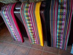 Aguayo textile decor --Multicolors $30.00 each piece