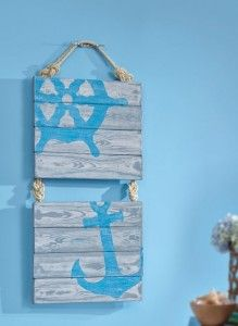 styrofoam nautical wall art