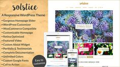 Excited to announce my latest #WordPress theme: Solstice!  Solstice is perfect for both bloggers or businesses, is responsive, makes full use of the WordPress Customizer, and is WooCommerce compatible.  http://bottomlessdesign.com/demos/solstice/