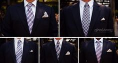 different ties for each groomsman // © gntphoto.com