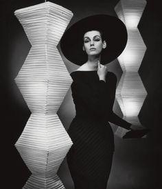 """""""The little black dress"""", Judy Dent, dress by Heinz Oestergard"""