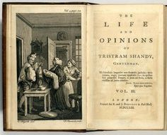 Tristam Shandy by Laurence Sterne