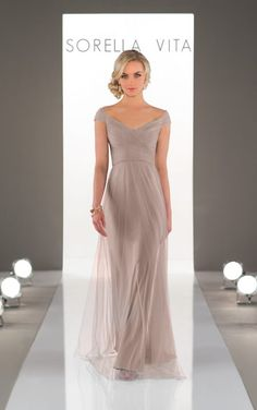 Love this for bridesmaid dresses Bridesmaid Gowns 455b1ad4b6bf