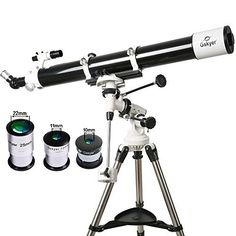 Gskyer Astronomical Telescope Refractor Focal Equatorial Mount NEW Orion Telescopes, Celestron Telescopes, Amazon Application, Astronomical Telescope, Cool Things To Buy, Stuff To Buy, Focal Length, Astronomy