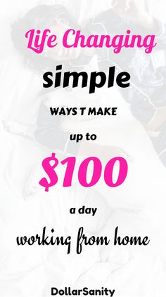 Simple ways to make money online working from home. You won't get rich qick but you'll earn money even if you're a beginner. Easy Money Online, Earn Money Online Fast, Ways To Earn Money, Online Earning, Money Tips, Earning Money, Online Side Jobs, Online Data Entry Jobs, Online Work From Home