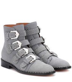 Givenchy Elegant embellished suede ankle boots