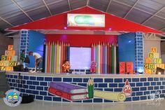 Graduation Crafts, Graduation Theme, Preschool Graduation, Graduation Decorations, Graduation Parties, Back To School Party, School Parties, Art Party Decorations, Bulletin Board Design