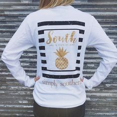 Simply Southern Long Sleeve Printed Tees by TwoLittleHootsDesign