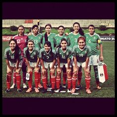 Selección Mexicana Femenil Sub17 #soccer #futbol #SeleccionMexicana #Mexico #sports