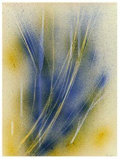 gacougnol:    Yves Klein Cosmogonie sans titre (COS 18), 1960, 65 x 50cm.