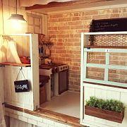 My Shelf,子供部屋,DIY,カフェ風,壁紙屋本舗,押し入れ改造に関連する他の写真