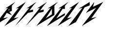 Metallica Font - Metallica Font Generator