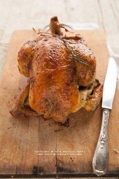 Pollo arrosto perfetto in poche mosse e una novità - Trattoria da Martina - cucina tradizionale, regionale ed etnica