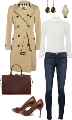 Looks com trench coat Classy Outfits, Chic Outfits, Winter Outfits, Fashion Outfits, Fashion Scarves, Fashion Boots, Fashion Ideas, Look Fashion, Trendy Fashion