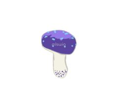 Purple Mushroom by mlswig
