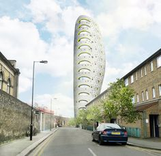 aLL Design Reveals Plans for Residential Tower in South London