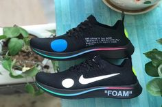 Details about Nike OFF WHITE Zoom Fly Mercurial Black AO2115 001 Sz 8 DS 100% authentic