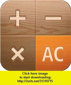 Wooden Calculator for iPad, iphone, ipad, ipod touch, itouch, itunes, appstore, torrent, downloads, rapidshare, megaupload, fileserve