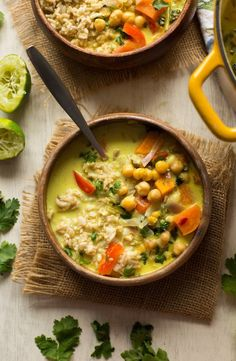 30 minute Chickpea Lime and Coconut Soup - warm, satisfying and easy make! | Gluten Free + Vegan + Grain Free + Healthy ....