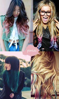 gradient hair   Tumblr
