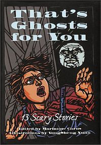 """That's Ghosts For You: 13 Scary Stories"" *** Marianne Carus Scary Stories, Comic Books, Comics, Halloween, Reading, Ghosts, Illustration, Artist, Paper"