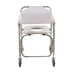 amazonsmile duromed shower chair with wheels commode chair and padded toilet seat
