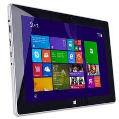 Digital2 D2-1014W Atom Z3735F Quad-Core 1.33GHz 2GB 16GB 10.1 Capacitive Touchscreen Tablet W8.1 w/HDMI & Cams (Purple)