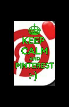 Keep calm and pinterest